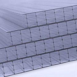 Polikarbonát lemez 25 mm (X struktúra,üregkamrás)
