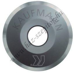Vágókerék tengely, 22x6x4,8 mm - normál,csomagolt  KAUFMANN