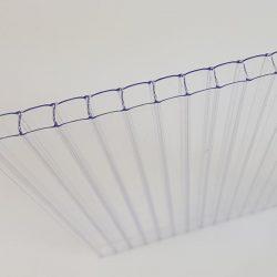 Polikarbonát lemez 6 mm (üregkamrás, UV1)