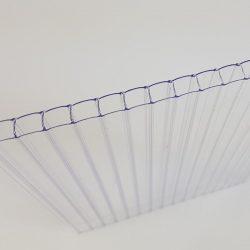 Polikarbonát lemez 8 mm víztiszta (üregkamrás, UV1)