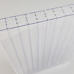 Polikarbonát lemez 16 mm (X struktúrás, UV2)