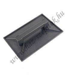 Simító betonhoz, műanyag fekete többféle méretben