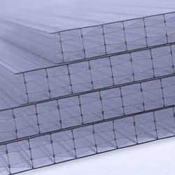 Polikarbonát lemez 25 mm víztiszta (X struktúrás, UV1)