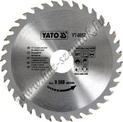 Vágókorong Fához 160x36x30 - YATO