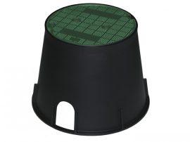 PZCRP25V - Kerticsap szekrény zöld fedéllel, 250mm-es átmérővel